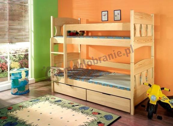 Łóżko piętrowe Wiktor