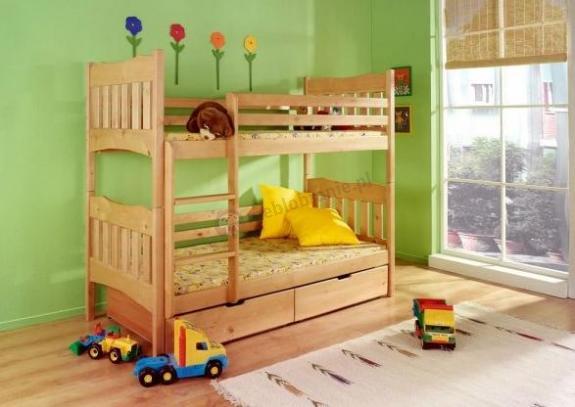 Łóżko piętrowe Nikodem