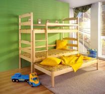 Łóżko piętrowe-3 osobowe Damian