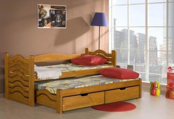 Łóżko parterowe Mikołaj