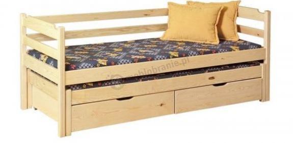 Łóżko parterowe Marcin