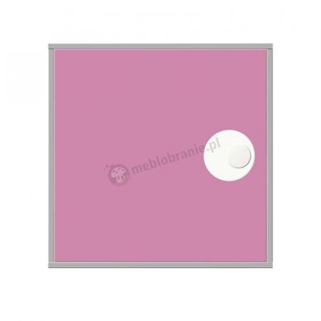 Lakierowana, zamykana szafka z półką i uchwytem 01C lub D