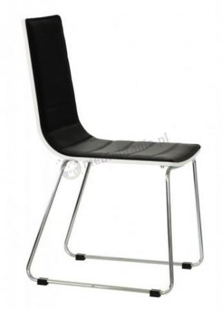 Nowoczesne, tapicerowane krzesło Opti