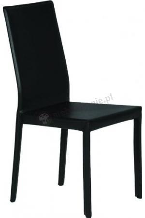 Nowoczesne, proste krzesło Ren