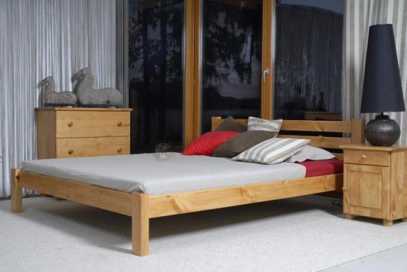 Łóżko drewniane Eurazja
