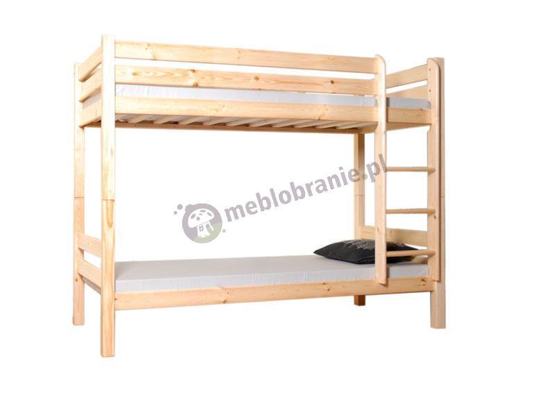 Łóżko piętrowe 90 x 200