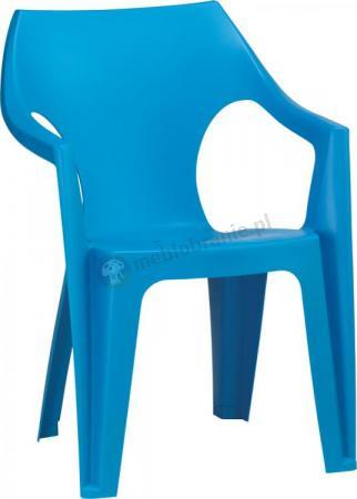 Krzesło ogrodowe Dante Low Back niebieskie