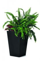 Elegancka doniczka Keter Small Planter (S-23L) - Antracyt