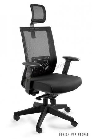 Ergonomiczny fotel biurowy NEZ z siatką