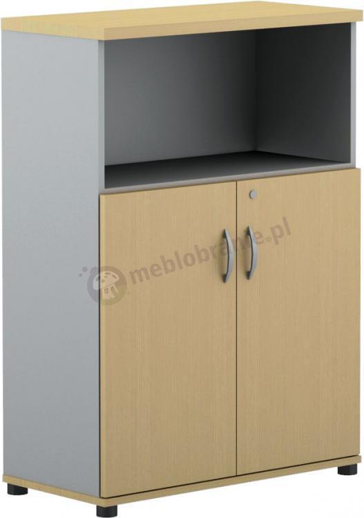 Szafka biurkowa z półką Svenbox Invest VH34