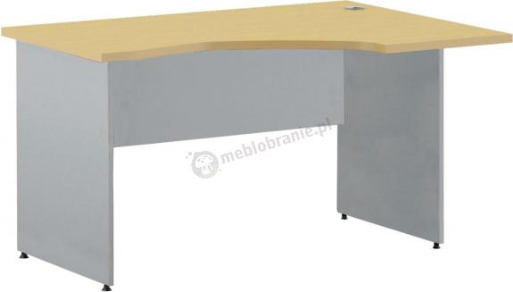 Małe biurko kształtowe Svenbox Invest VBH025