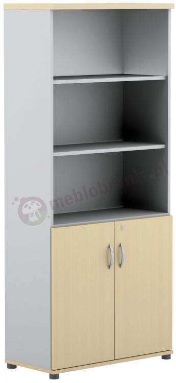 Regał biurowy półotwarty Svenbox Invest VH54