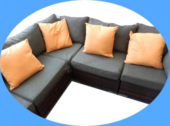 Poduszka ozdobna - komplet czterech 50x50 cm