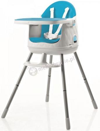 Krzesełko do karmienia KETER Multidine niebieski