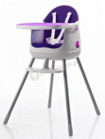 Krzesełko do karmienia KETER Multidine fioletowy