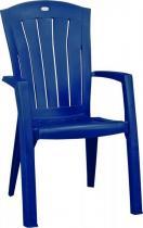 Krzesło ogrodowe Santorini niebieskie