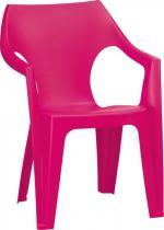 Krzesło ogrodowe Dante Low Back różowe ciemne