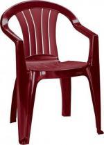 Krzesło ogrodowe Sicilia bordowe