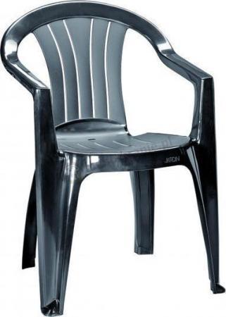 Krzesło ogrodowe Sicilia grafitowe