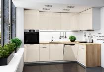 Narożny zestaw mebli kuchennych PEO 200x220cm / 12 elementów